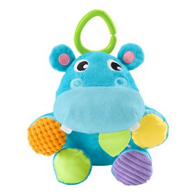 Fisher-Price Have a Ball 2-in-1 Plush Hippo with F