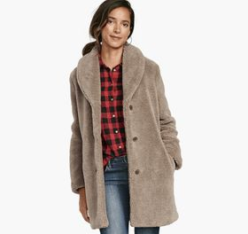 Johnston Murphy Teddy Coat