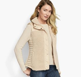 Johnston Murphy Mixed-Media Quilted Vest