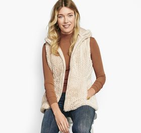 Johnston Murphy Reversible Faux-Fur Vest