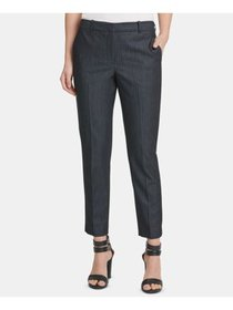 DKNY Womens Navy Wear To Work Pants Size 2P