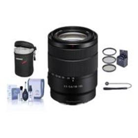 Sony 18-135mm f/3.5-5.6 OSS E-Mount Lens With Free