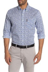 Ben Sherman Floral Print Union Fit Shirt