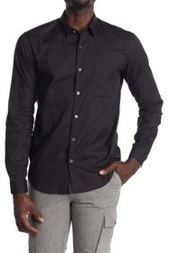 Theory Rammy Long Sleeve Slim Fit Shirt