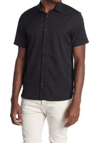 Perry Ellis Short Sleeve Button-Down Shirt