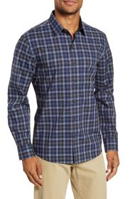 Zachary Prell Ojeda Regular Fit Plaid Button-Up Sh