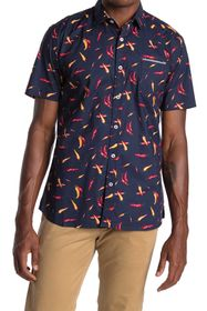 IMPATIENT WOLVES Short Sleeve The Chili Print Shir