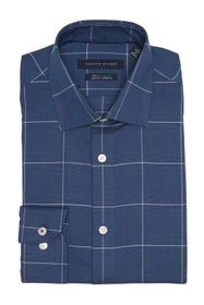 Tommy Hilfiger Slim Fit Long Sleeve Windowpane Dre