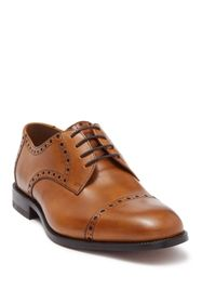 MORAL CODE Newton Leather Cap Toe Derby