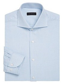 Saks Fifth Avenue COLLECTION Classic-Fit Checkered
