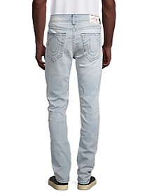 True Religion Rocco No Flap Relaxed-Fit Skinny Jea