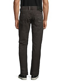 Cult Of Individuality Rebel Straight-Fit Distresse