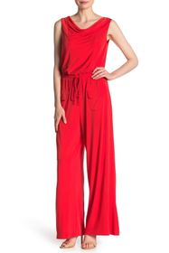 Vince Camuto Sleeveless Cowl Neck Jumpsuit