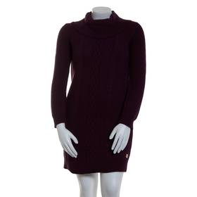 Womens Tommy Hilfiger Long Sleeve Cowl Neck Cable