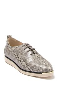 Cole Haan Grand Ambition Snake Print Leather Oxfor
