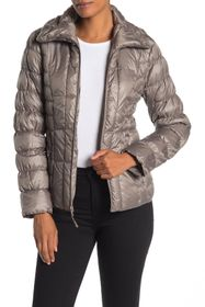 Kenneth Cole New York Quilted Packable Puffer Jack