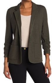 T Tahari Heathered Knit Blazer