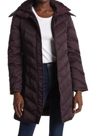 Kenneth Cole New York Faux Fur Trimmed Removable H