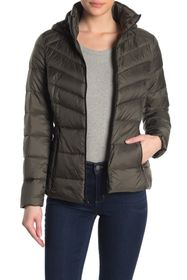 Lucky Brand Missy Short Packable Down Jacket