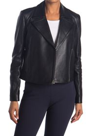 Theory Slim Moto Leather Jacket
