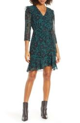 Sam Edelman V-neck Side Ruched Dress