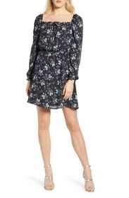 cupcakes and cashmere Elsie Floral Print Dress