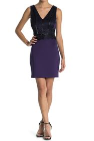 GUESS Bodycon Dress With Lace Detailing