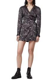 ALLSAINTS Irina Remix Long Sleeve Romper