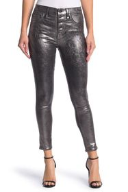 VERONICA BEARD Debbie Coated High Rise Skinny Jean