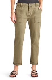 Sam Edelman The Cargo Cuffed Ankle Pants
