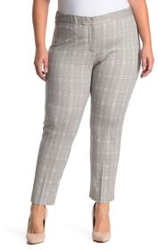 Amanda & Chelsea Plaid Ponte Knit Pants