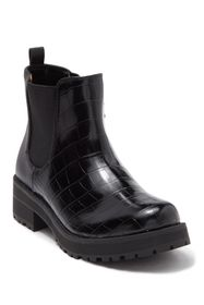 Fergie Sting Embossed Croc Bootie