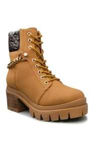 Juicy Couture Question Quilted Chain Fashion Boot