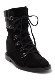 Aquatalia Clarisa Suede Lace-Up Boot