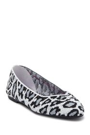 Skechers Cleo Claw-Some Animal Print Flats