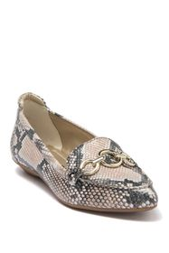 Anne Klein Ola Pointed Toe Leather Loafer