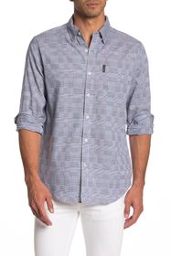Ben Sherman Long Sleeve Multi Plaid Union Fit Shir