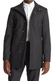 Theory Belvin Wool Blend Top Coat