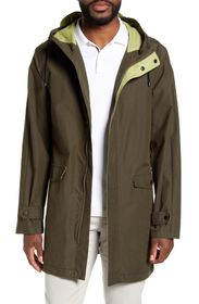 Vince Camuto Long Double Face Hooded Anorak