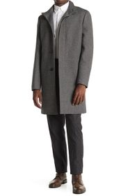 Theory Belvin Kensington Wool Blend Coat