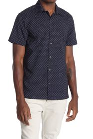 Perry Ellis Geometric Slim Fit Shirt