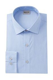 Kenneth Cole Reaction Solid Slim Fit Dress Shirt