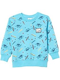 Quiksilver Kids Flip Snacking Crew Fleece Top (Tod