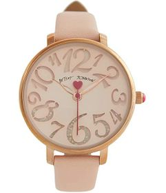 Betsey Johnson Cutout Dial Watch