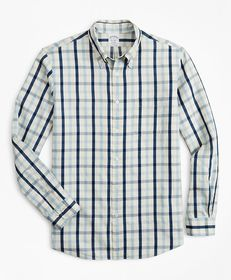 Brooks Brothers Regent Fitted Sport Shirt, Indigo