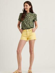 Lucky Brand Mid Rise Cut Off Jean Short