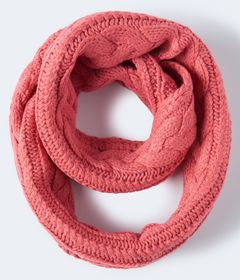 Aeropostale Cable-Knit Infinity Scarf