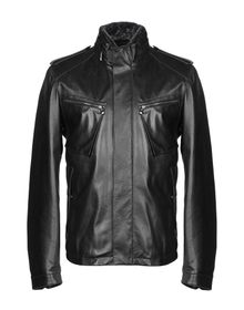 ZEGNA SPORT - Leather jacket