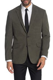 Kenneth Cole Reaction Solid Front Two Button Blaze