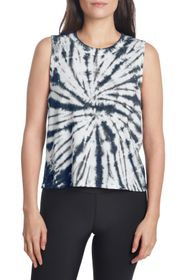 SAGE COLLECTIVE Tie Dye Crew Neck Tank Top